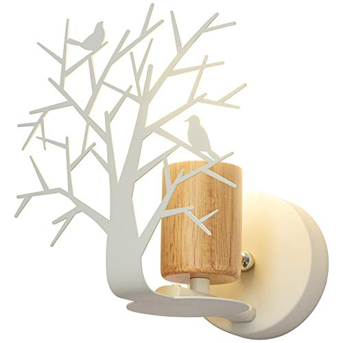Moderne LED wandlamp wandlamp wandlamp wandlamp wandlamp wandlamp nachtkastje met groen licht leeslamp gemaakt van hout wandlamp E27 Luminare