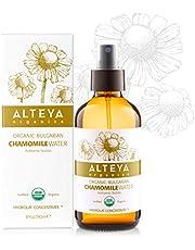 Alteya Organic Kamille Water Spray 240 ml Glazen Fles – 100% USDA Gecertificeerd Organisch Puur Natuurijke Bloem Water Gedestilleerd, van Frisse Handgeplukte Anthemis Nobilis Bloemen