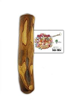 Bio Mordiscos Jouet à Mordre au Bois d'olivier pour Chien - 100% Naturel (L 201-450 g)