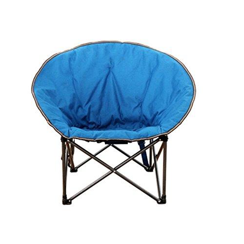 Vouwen Vrije tijd Stoel, Blue Portable Ronde Lazy Lounge Camping Bench Binnenplaats Tuin Schilderen Schetsen Chair, 50 * 80CM 420