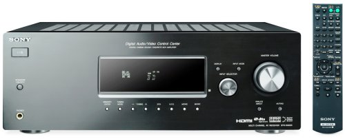 Sony STR-DG520 5.1 Audio Video Receiver - Black (Discontinued by Manufacturer)