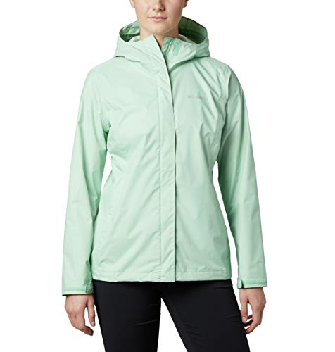 Columbia Arcadia II Hooded Jacket, Waterproof and Breathable Blouson de Pluie, New Mint, XL Femme