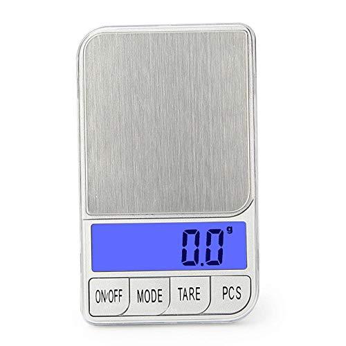 Draagbare Elektronische Weegschaal 100g / 300g / 500g x 0.01g / 0.1g Precisie Mini Pocket Sieraden Digitale Weegschaal Lcd-scherm Keukenweegschaal 300g 0.001g