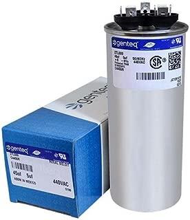 CAP050450440RT - 45 + 5 uf MFD 440 Volt VAC - Goodman Round Dual Run Capacitor Upgrade