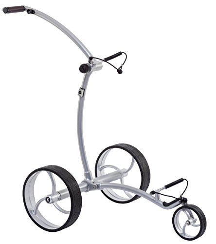 Leisure Golf Elektro Golftrolley Ikarus DHC Slim Line (Silber)