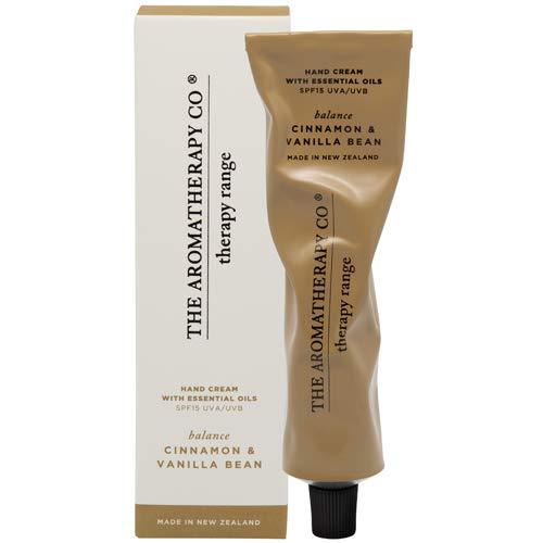 アロマセラピーカンパニー(Aromatherapy Company) Therapy Range セラピーレンジ Hand Cream ハンドクリーム Cinnamon & Vanilla Beans シナモン&バニラビーンズ Balance(バランス/調