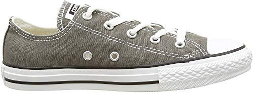 Converse CTAS-OX-Charcoal-YOUTH, Unisex - Kinder Sneaker, Grau (Charcoal), 31 EU