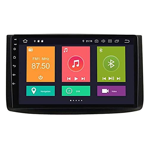 ZHANGYY Unidad Principal estéreo de Coche Android 10.0 Doble DIN Compatible con Chevrolet EA 2007-2012, 9 Pulgadas Touch Sn, Controles del Volante/cámara Trasera/GPS/FM/Bluetooth