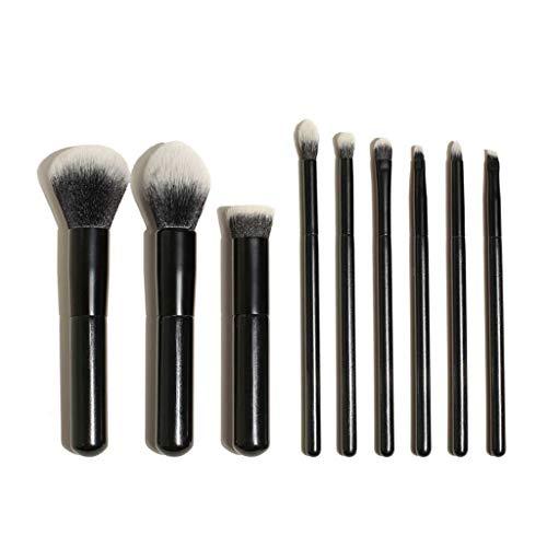 YYF Lisse 9 Pinceau de Maquillage Ensemble débutant Brosse de Maquillage de Doux Ombres à paupières Pinceau Pinceau Exquis