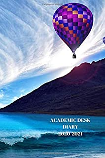 ACADEMIC DESK DIARY 2020-2021: A5 Diary Starts 1 August 2020 Until 31 July 2021. Flight. Paperback With Soft Water Repelli...