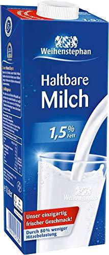 10 x Weihenstephan H-Milch 1,5%