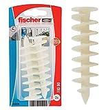 Fischer 512238 Tasselli per cappotti FID 90 K per fissaggio su pannelli isolanti, 2 Pz...