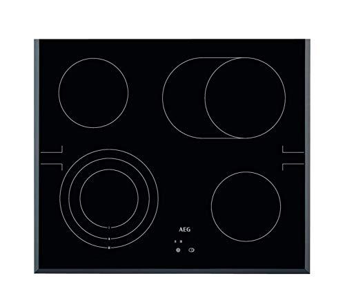 AEG HE604070FB Integrado Con - Placa (Integrado, Con placa de inducción, Vidrio,...
