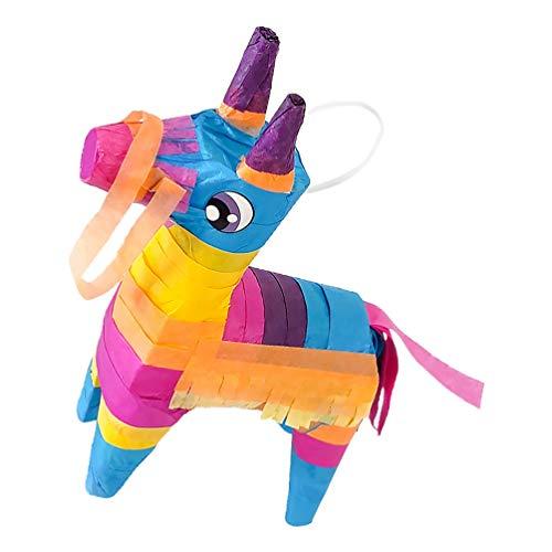 Amosfun Mini Esel Pinatas Mexikanischen Pinatas Burro Spielzeug Cinco de Mayo Fiestas Party Favors Mittelstücke für Kinder