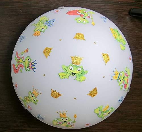 Deckenleuchte/Wandlampe * Frosch Frog König * auch LED - mit/ohne Name