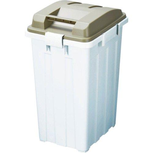 新輝合成トンボ連結ハンドルペール45Lブラウンつながるゴミ箱