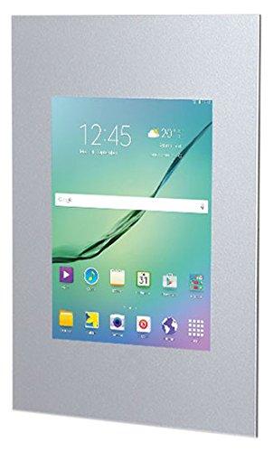 TabLines TWE019S Tablet Wandeinbau für Samsung Galaxy Tab S2 9.7, silber