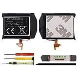 Duotipa Batería de repuesto EB-BR760ABE compatible con Samsung Gear S3 Frontier Classic SM-R770 R760 R765 con herramientas