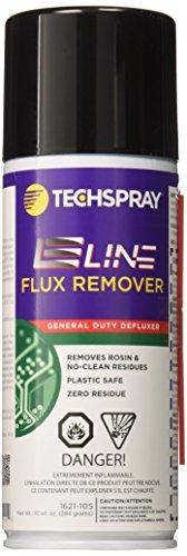 Tech Spray 1621-10S EcoLine Flux Remover, General Purpose Defluxer, 10 oz Can