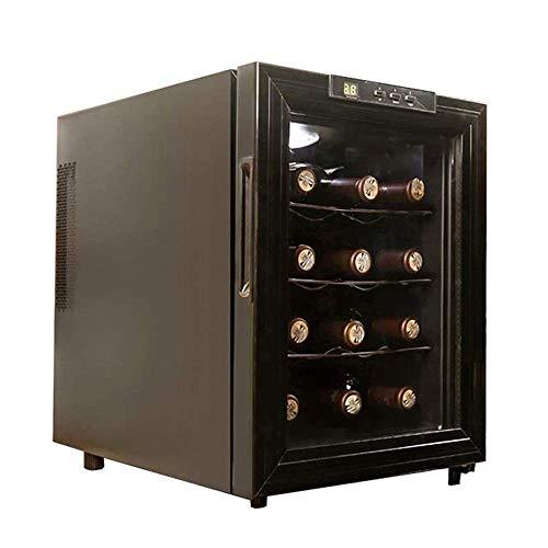 Vitrina electrónica semiconductora para vinos, pequeña Nevera silenciosa para vinos tintos y...