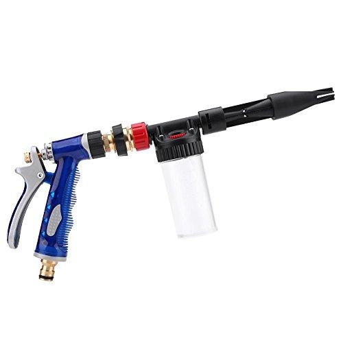 Qiilu Pistola pulverizadora de Coche, Lavadora de presión Desmontable Lavadora de Espuma de Nieve Pistola pulverizadora de Lanza Herramienta de Limpieza de automóviles
