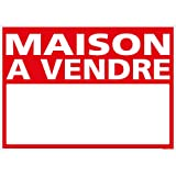 Panneau - Maison A Vendre - Plastique rigide AKILUX 3,5mm - Dimensions 700 x 500 mm - Protection Anti-UV