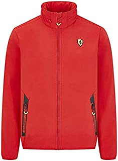 Ferrari Scuderia Men's Softshell Jacket Black/Red (2XL, Red)