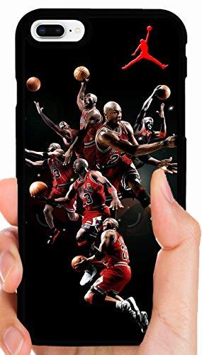 Jordan Mix Up Multiple Poses Bulls Basketball Phone Case Cover - Select Model (Galaxy S7 Edge)