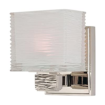 Hartsdale 2-Light Vanity Light - Satin Nickel Finish with Clear/White Glass Shade