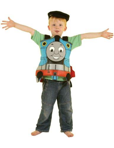 Thomas/James Déguisement dossard imprimé devant et dos + casquette Taille unique