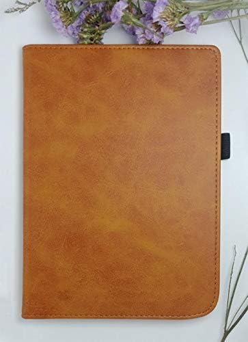 Auto SleepWake Case voor Pocketbook 740 PB740 78 inch Ereader Handheld Bracket Draagbare Pocketbook Incpad 3 Magnetische Cover Zakelijk bruin