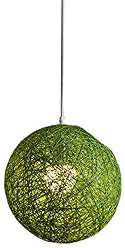 Plafond Hanger Individuele Creativiteit Sferische Rotan Nest Lampenkap Hennep Bal Creatief Ontwerp Eigen Kantoren Vintage Stijl Bamboe Wijnstok schaduw