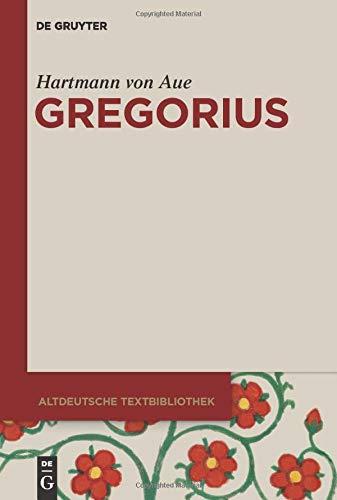 Hartmann von Aue: Gregorius (Altdeutsche Textbibliothek, Band 2)