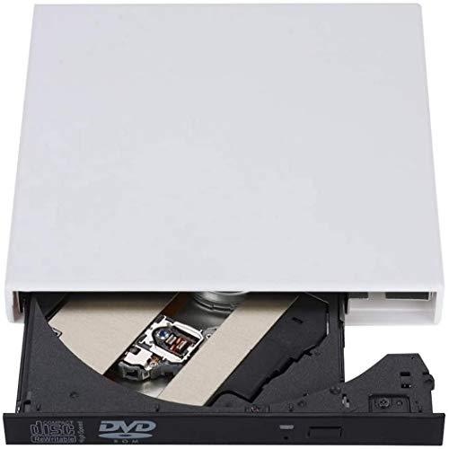 Blingco CD Drive Unità Ottica Esterna Masterizzatore Esterno CD Burner USB 2.0 DVD-R Combo CD-RW per Laptop,Notebook,PC Desktop Computer,Mac, Argento