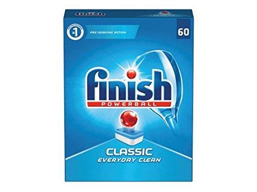 Finish Classic 60pieza(s) detergente Dishwasher