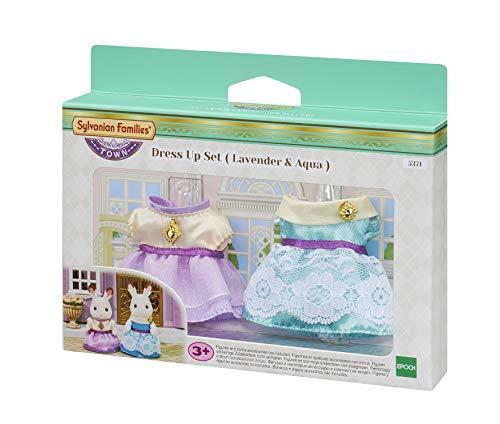 Sylvanian Families - 5371 - Set de vestidos azul y lavanda