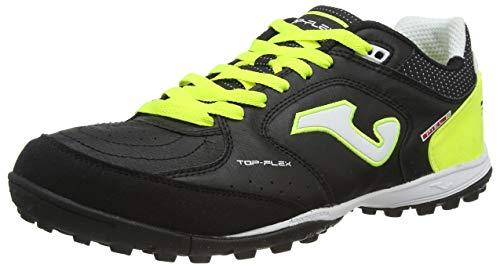 Joma Top Flex 2032-Amarillo Indoor, Football Shoe Hombre, Blanco, 41 EU