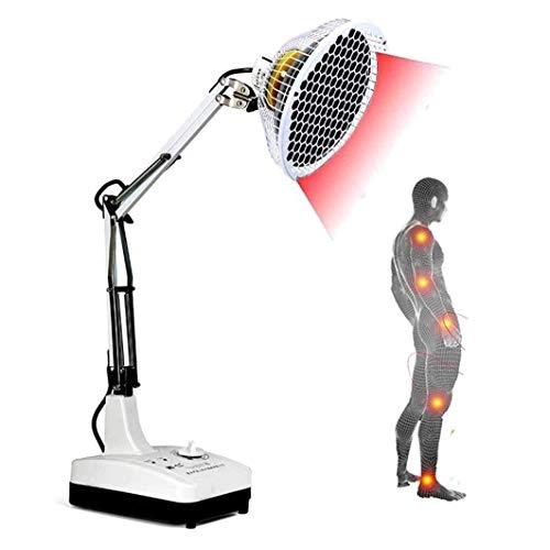 SXZZ Lámpara De Calor Infrarroja, Lámpara De Terapia De Luz Roja, Mejora La Circulación Sanguínea para La Ciática De Alivio del Dolor, Lámpara De Tratamiento Térmico Tenso Muscular