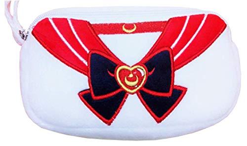 UNI Sailor Moon Style Cosplay Costume Makeup Bag (Red & Black)