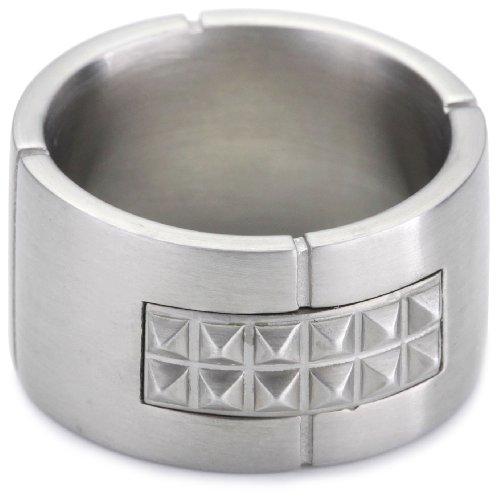 Esprit Ring Edelstahl rocks