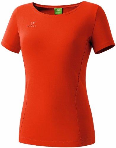 Erima Damen T-Shirt Style T-shirts & Polos, chilli red, 36