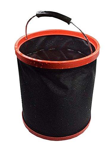 Black Temptation 12L Outdoor Camping Hiking Travel Gardening Bucket lavaggio auto con maniglia