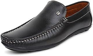 BUWCH Brown Loafer Shoe for Men
