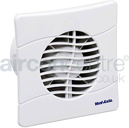 Vent-Axia 427282/A 100/mm CP Bad//WC L/üfter mit Timer/ /wei/ß