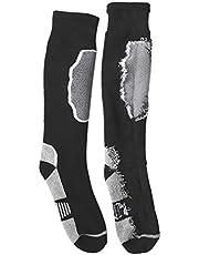 MILISTEN 1 par de Calcetines Deportivos Calcetines Deportivos de Media Pantorrilla Calcetines de Algodón Transpirables Cómodos de Secado Rápido de Invierno para Hombres Mujeres 39-45
