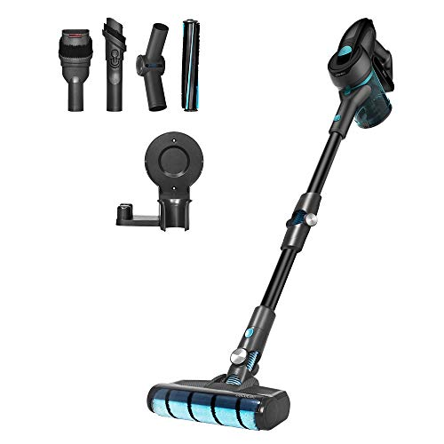 Cecotec Cordless Broom Vacuum Cleaner Conga Rockstar 700 X-Treme Ergoflex, Bagless, 430W power, 24 KPA, 3 in 1: vertical, broom and handheld, Digital motor, Flexible tube, Up to 65 min of Autonomy