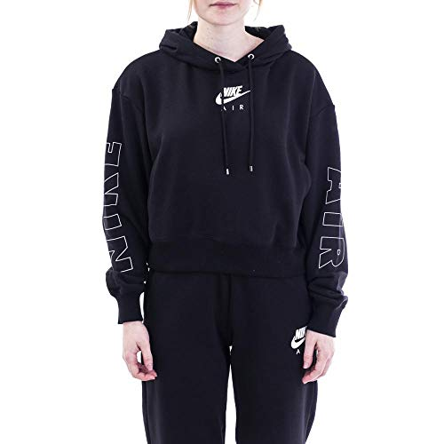 Desconocido W NSW Air Hoodie FLC BB - Hooded Long Sleeve Top Mujer