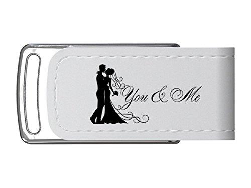 USB-Stick Hochzeit Design You & Me USB 3.0 Größe 8GB