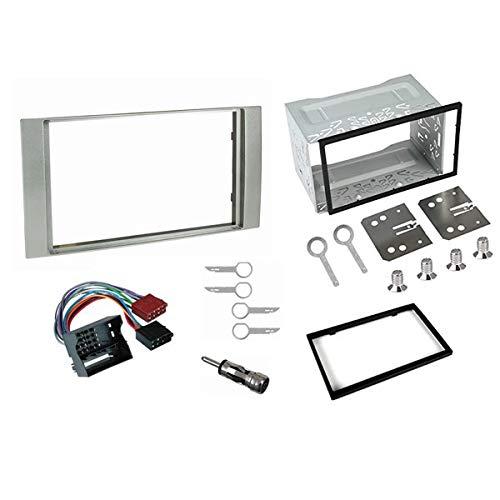 Sound Way - Kit Montaggio autoradio 2 DIN Adattatore per Ford Galaxy Fiesta Focus C-Max S-Max Transit - 2DP-FORD2-S