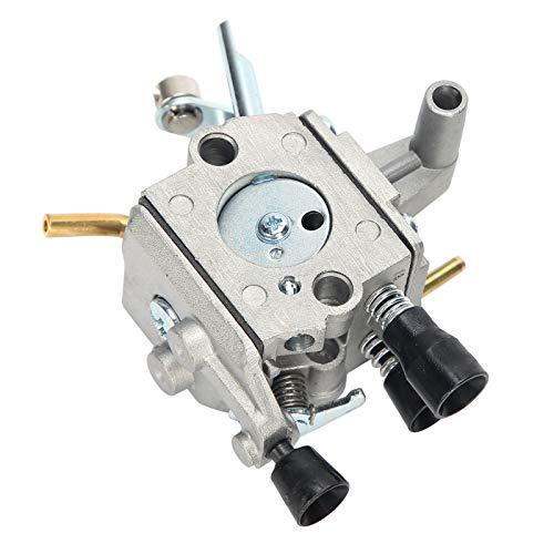 ciciglow Filtro de Aire para cortacésped, Conjunto de carburador, Tubo de Combustible, Filtro de Combustible, Conjunto de Filtro de Aire, aleación de Aluminio + plástico para STIHL FS480 FS450 FS400